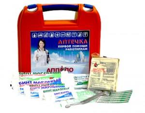 Аптечка первой помощи работникам (пластиковый чемоданчик)